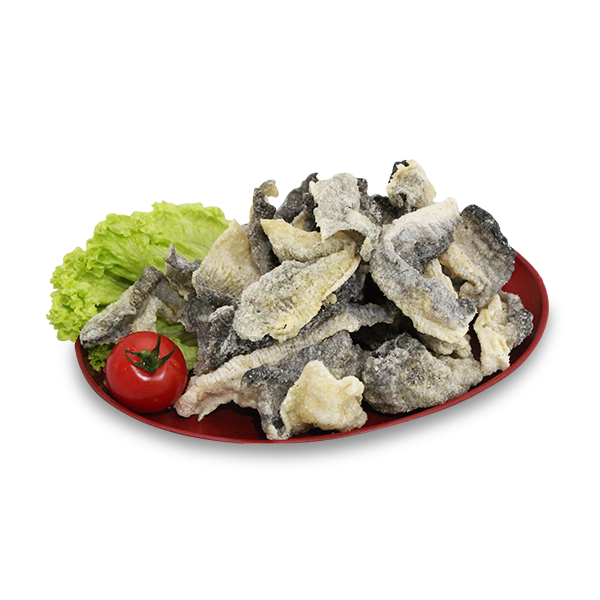 Salmon Fried Fish Skin <br> 100g