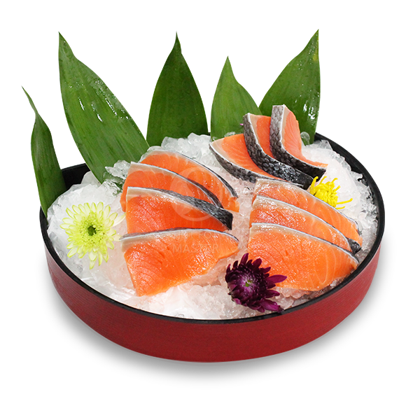 Air-Flown Fresh Salmon Slices <br> 10pcs