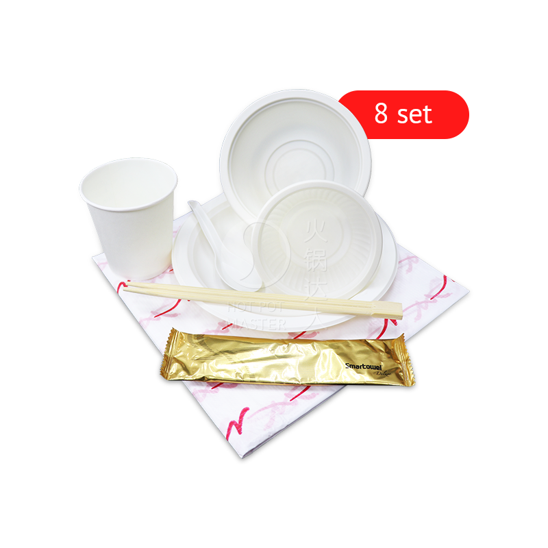 Disposable Tableware (8 set)