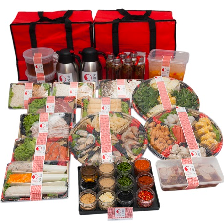 Signature HotPot set (10pax) <br> (not available from 4th Jan to 9th Feb, 2020)